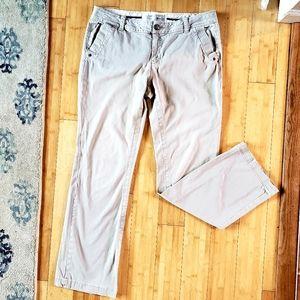 Converse Women's Kakhi Pants Size 12 Distresses